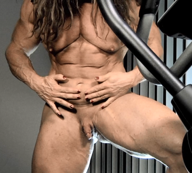 Ass babes women bodybuilders huge clit video