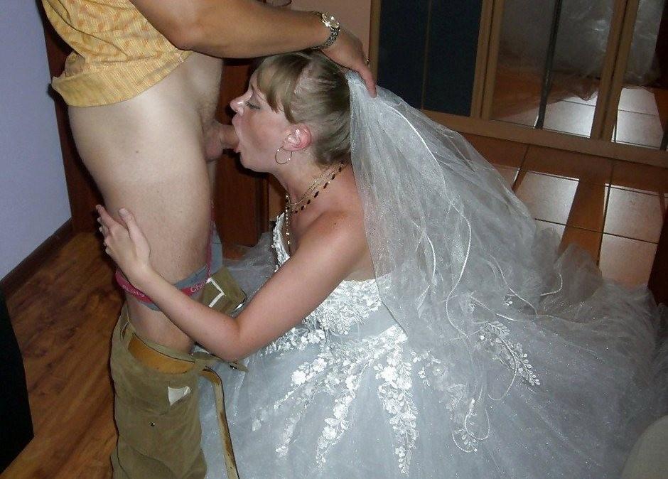 Невеста отсосала гостю — 13