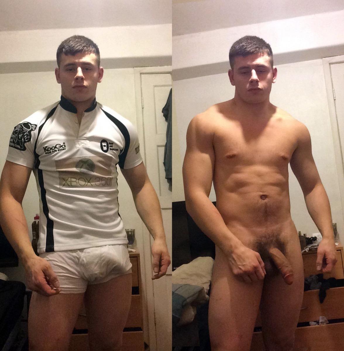 Naked male geek, athletes nude female