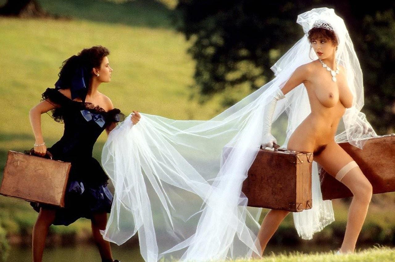 Свадебные фото в голом виде