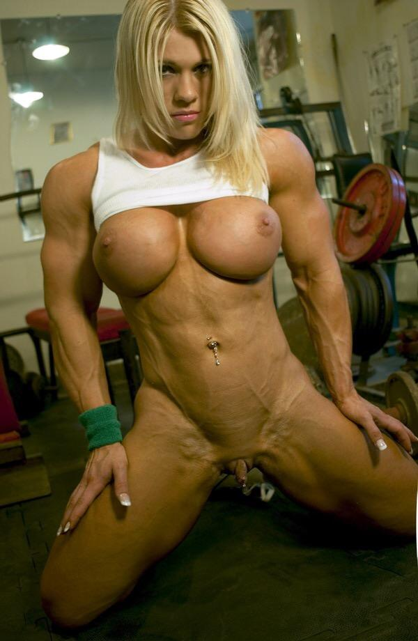 Women bodybuilders huge clit — photo 10