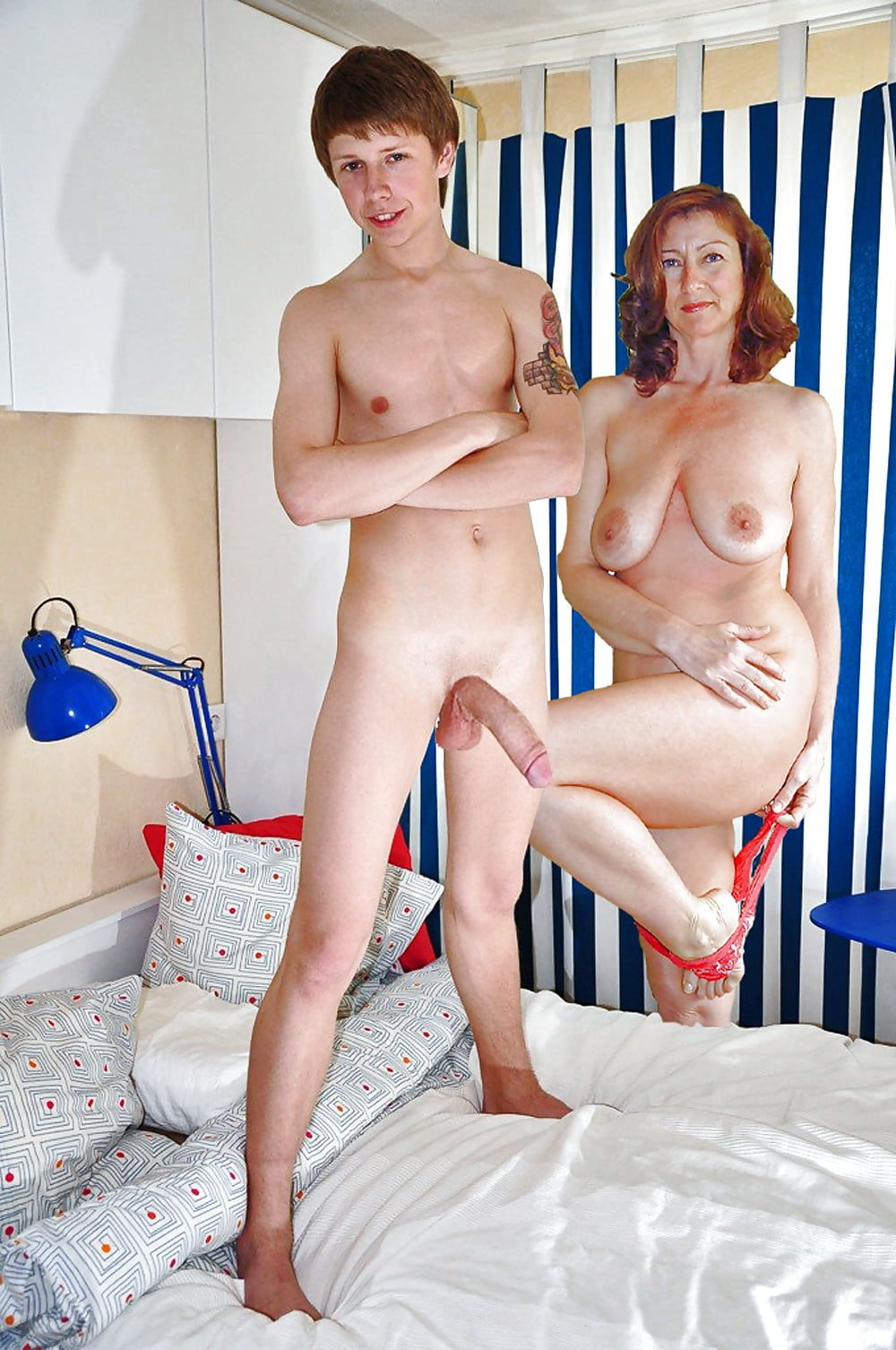 Full nekad moms boyxxx images — 9