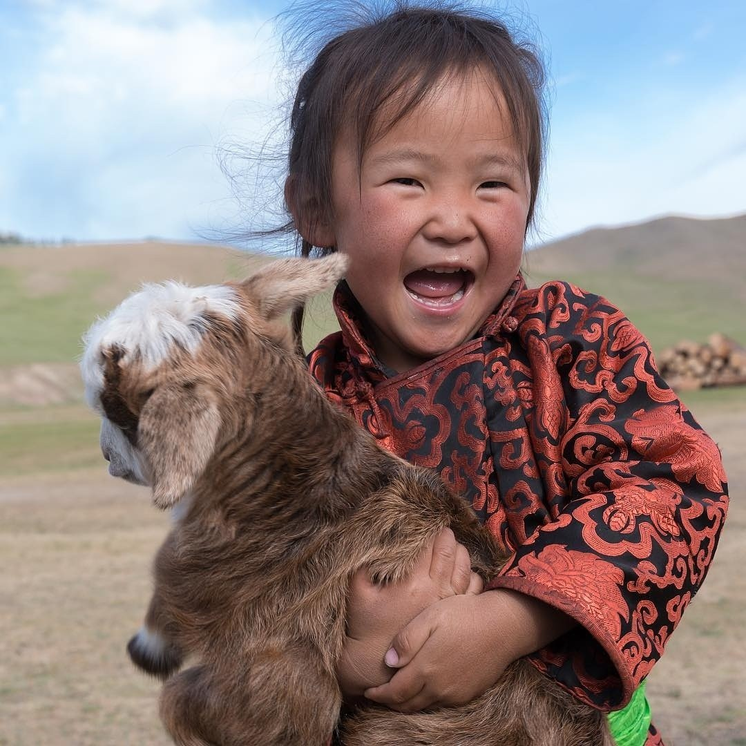Babes in Mongolia