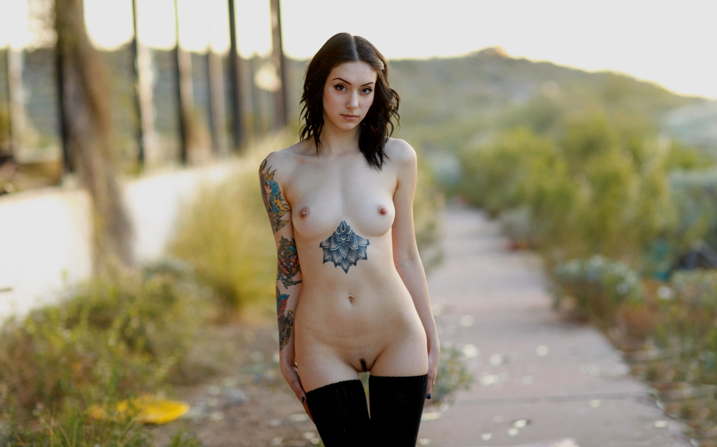 Suicide naked — photo 15